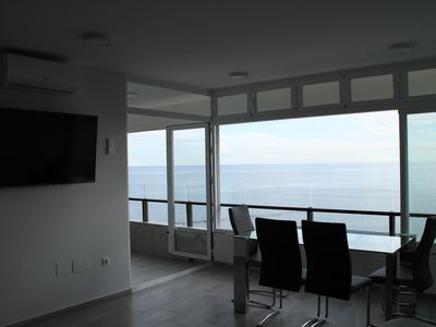 Photo for Fantastic apartment on the seafront