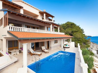 Photo for In Blato with Internet, Pool, Air conditioning, Parking (740031)