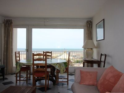 Photo for Seafront apartment, 3 bedrooms for 7 persons, sea view, LE TOUQUET PARIS BEACH