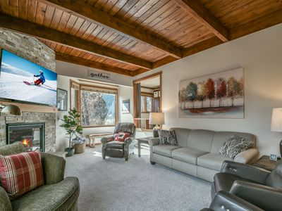 Photo for Close to Lake & Conf. Center, Great Balcony, Fireplace, & Outdoor Pool/Hot Tub!