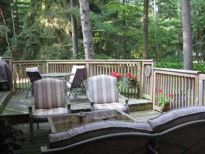 Back Deck from the Living Room