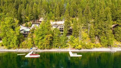 Photo for NEW LISTING!!! Gorgeous Whitefish Lake Property! 6BD 4.5BA! Private Dock Access