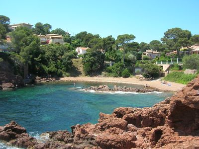 Photo for delicious apartment 150 meters from the sea in Saint Raphael