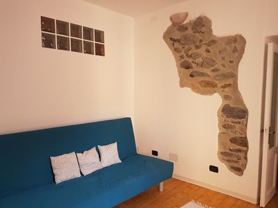 Photo for Holiday home Dani, 60sqm apartment with a small courtyard 100mt free parking.
