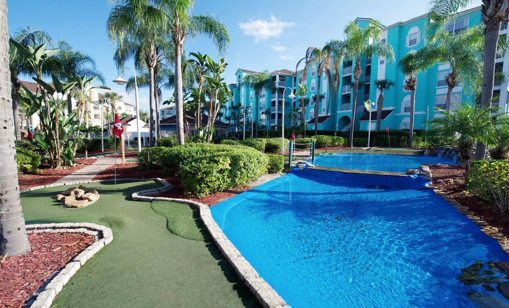 Family friendly condo w resort pools mini golf 1 mile - Palm canyon resort 2 bedroom villa ...