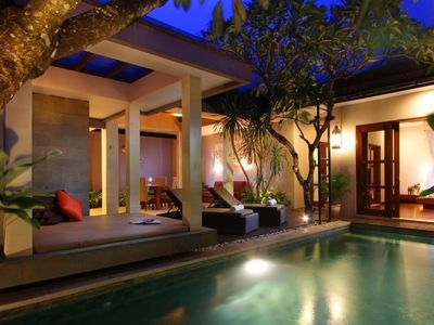 Photo for Aria Affordable Price for 1 Bedroom Private Pool Villa near Seminyak
