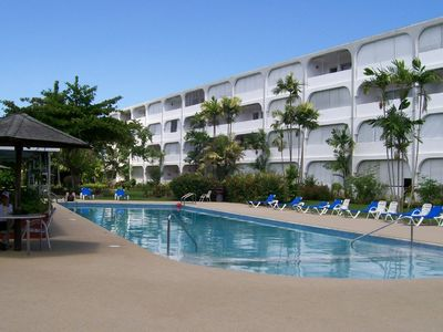Photo for Quality ground floor apartment, platinum west coast, Holetown, Barbados