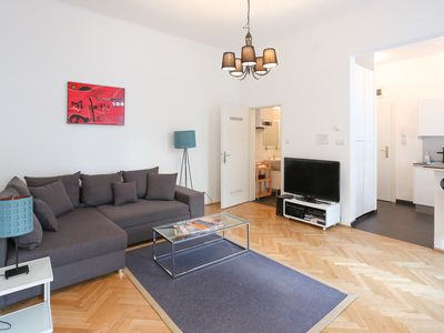 Photo for Apartment with balcony in trend district