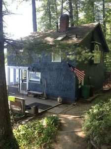 Entry side of Bear Rising Camp from off road parking