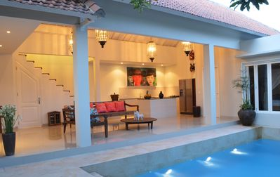 Photo for Seminyak Villa Escape, Walks to Beach, Restaurant, Beach Bar, Shops