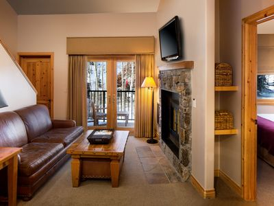 Photo for Luxurious Two Bedroom Suite With full kitchens, gas fireplaces, and balcony