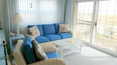 Photo for Cozy unit located oceanfront on 128th Street!