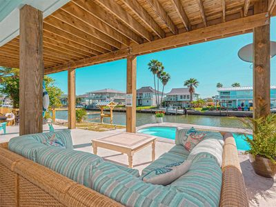 Photo for Cool Breezes and great views from this newly constructed home in City by the Sea!