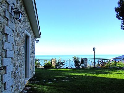 Photo for Summer cottage with pool and breathtaking views, Gargano National Park