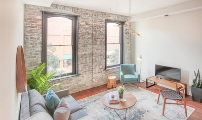 Photo for Stay with Lucky Savannah: Gorgeous 2 bedroom suite at The Grant on Broughton