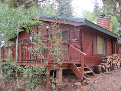 Cozy 2 Bedroom, 1 bath, log cabin with all the comforts and amenities you need!