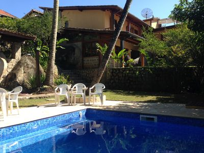 Photo for Wonderful house with swimming pool less than 100m from Portinho Beach - Ilhabela