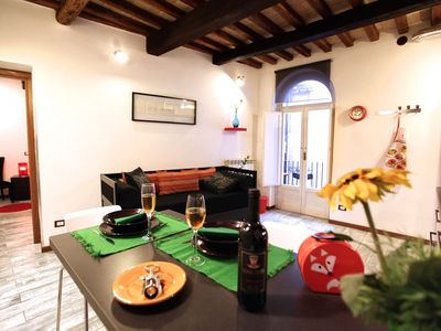 Photo for Casa Flavia, cozy apartment in central position, 1 bedroom, 4 sleeps.