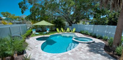 Photo for Private Pool, Pet Friendly, and Huge September Savings at Beach Isle!