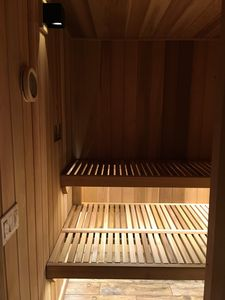 New sauna just finished in time for winter!