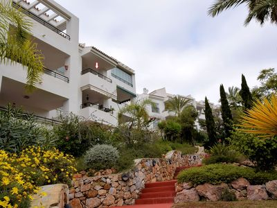 Photo for Beautiful penthouse apartment with roof terrace and panoramic views