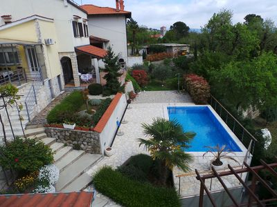 Photo for Holiday apartment with balcony and pool use