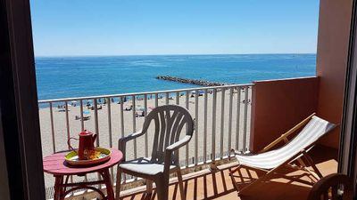 Photo for Nice 2 rooms sea view