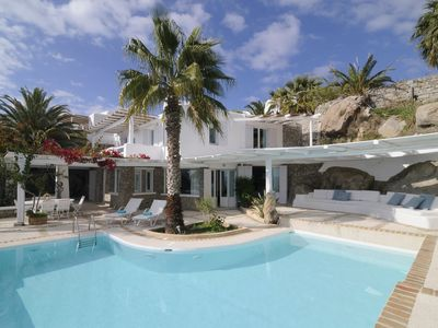 Photo for BlueVillas | Villa Charline | Private pool with view close to Mykonos Town