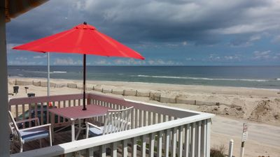 Islands End at Ocean Isle Beach NC. Fantastic ocean, inlet and island views!