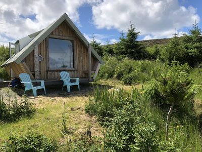 Photo for Isle of Harris-Award winning Tiny House-BeachView/Sea-View/ Harris beach locati