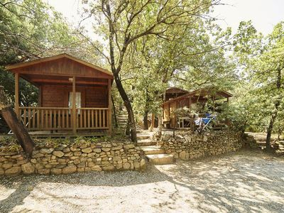 Photo for Camping des Albères **** - Chalet 2 People