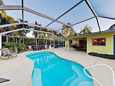 Photo for New Listing! Canalfront Getaway w/ Private Pool, Kayaks, Grill & Boat Dock