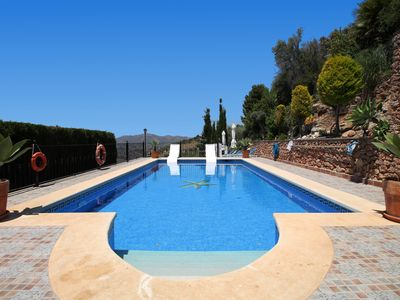 Photo for 1094 Cortijo el Niño - Villa for 15 people in Frigiliana