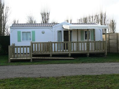 Photo for Camping Cendrée Seagull *** - Mobile home 3 Rooms 4/6 people PRM