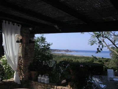 Photo for Stone house. 450m from the beach TRADICETTU, municipality of Sartène. Sea view +++