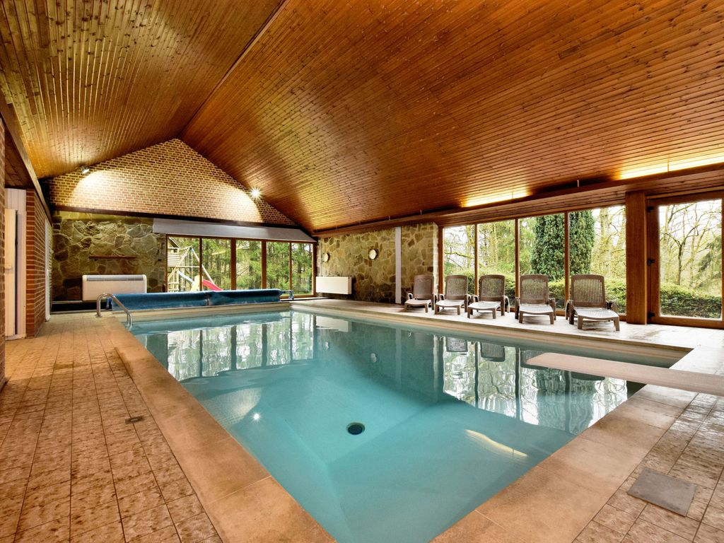 Property Image#3 Holiday Villa In A Wooded Area With Indoor Pool And Sauna
