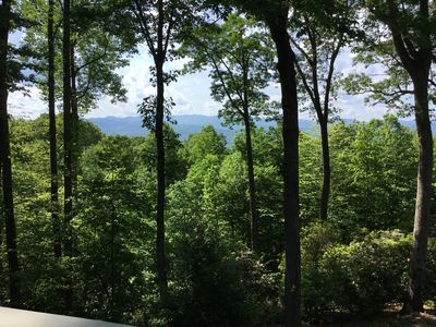 Photo for NEW: MAJESTIC MOUNTAIN VIEWS WITH A PRIVATE MOUNTAIN CREEK