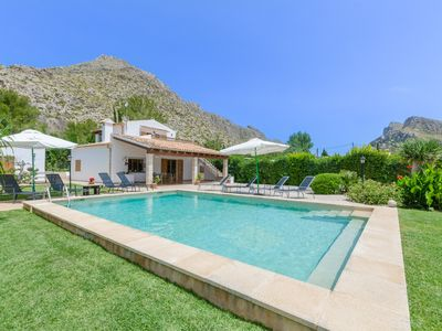 Photo for CAN COLL - Villa with private pool in Port de Pollença.