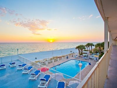 Photo for King Bed with Sofa Bed and Kitchen At Beachside Panama City Beach