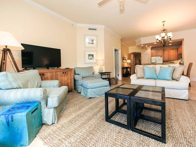 Photo for Free Beach Chair Service and Bikes! Adagio Ground Floor Condo with Easy Access to Pools and Beach