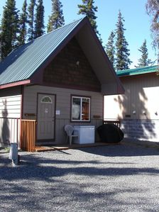 Photo for Klondike RV Park Cozy Cottage Across the Street from Kenai River