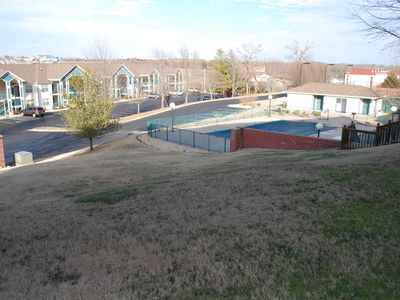 Photo for Branson's Best Abode, 1st floor walk out, next to pool.