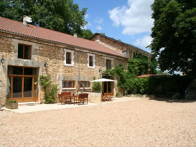 Photo for Le Chai Gite, 5* & 4 Cles Luxury, Riverside, Pool, Family/Pet Friendly, Brantome
