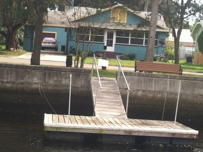 Photo for Riverfront Plum Crazy Bungalow! 10 Min To The Gulf. 40 Min To Tampa & Beaches.