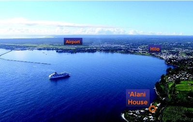 Perfect location - easy access to Hilo, plus just walk to the beach and surf
