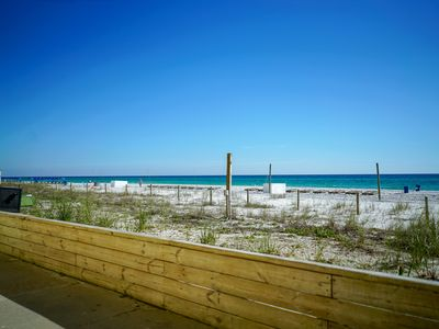Photo for New Listing! Oceanfront condo across from Gulf World! Free WiFi/Parking!