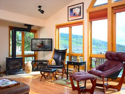 Photo for Amazing 40 Mile View! Beautiful Home - private Hot Tub and 2 car heated garage
