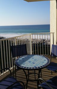 Enjoy your morning coffee on the balcony with a gorgeous view