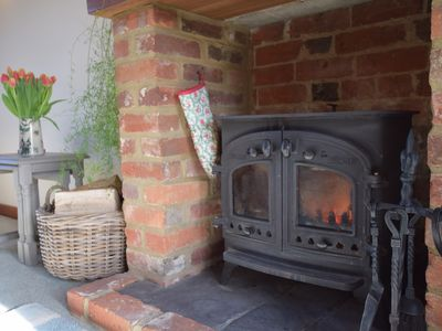 Relaxing Wood Burner