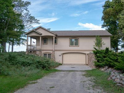 Photo for Tuscan Rose: 4 BR House on Lake Michigan with PRIVATE Frontage! (Sleeps 10)